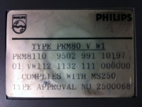 PRM 8010 Sticker